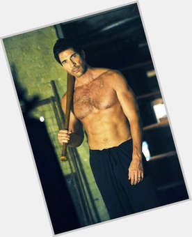 Dylan Mcdermott dark brown hair & hairstyles Athletic body,