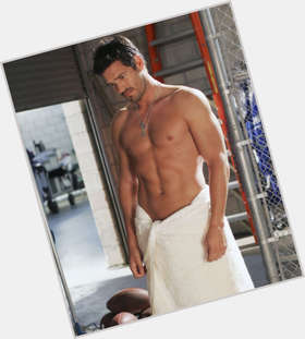 "<a href=""/hot-men/eddie-cibrian/is-he-bi-2014"">Eddie Cibrian</a> Athletic body,  dark brown hair & hairstyles"