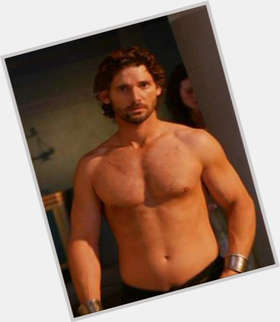 Eric Bana dark brown hair & hairstyles Athletic body,