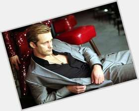 Eric Northman blonde hair & hairstyles Athletic body,