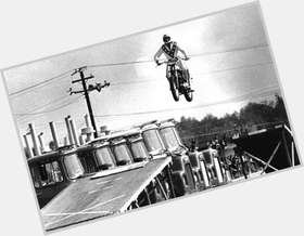 Evel Knievel blonde hair & hairstyles Athletic body,
