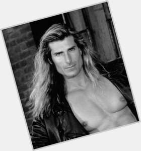 Fabio dark brown hair & hairstyles Bodybuilder body,