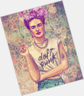 "<a href=""/hot-women/frida-kahlo/is-she-mexican-man-still-alive-feminist-contemporary"">Frida Kahlo</a> Slim body,  black hair & hairstyles"