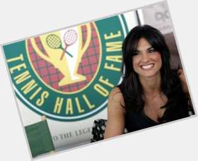 Gabriella Sabatini black hair & hairstyles Athletic body,