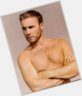 "<a href=""/hot-men/gary-barlow/is-he-married-leaving-x-factor-dad-quitting"">Gary Barlow</a>  blonde hair & hairstyles"