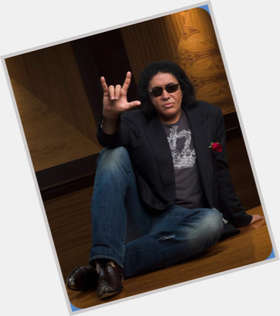 "<a href=""/hot-men/gene-simmons/is-he-still-married-christian-bald-tongue-real"">Gene Simmons</a> Athletic body,  black hair & hairstyles"