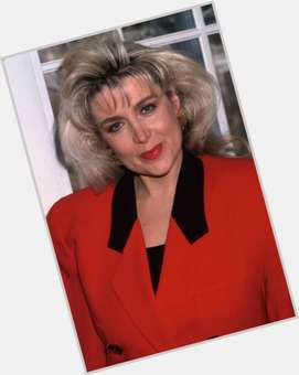 Gennifer Flowers blonde hair & hairstyles Athletic body,