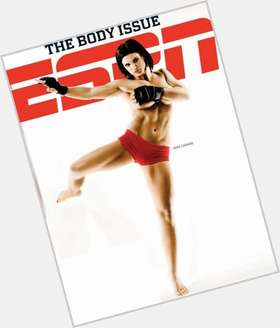 Gina Carano dark brown hair & hairstyles Athletic body,