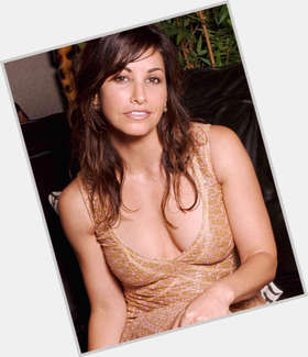 Gina Gershon dark brown hair & hairstyles Athletic body,