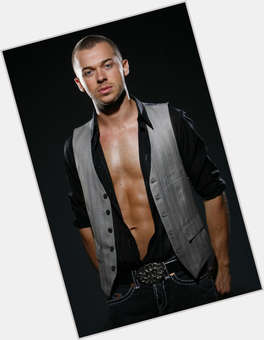 Artem Chigvintsev light brown hair & hairstyles Athletic body,