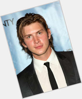 Greyston Holt dark brown hair & hairstyles Athletic body,