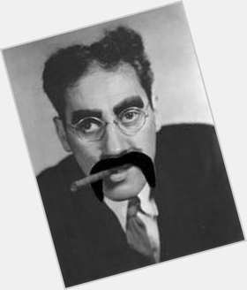 "<a href=""/hot-men/groucho-marx/is-he-still-alive-related-karl-where-buried"">Groucho Marx</a> Average body,  black hair & hairstyles"
