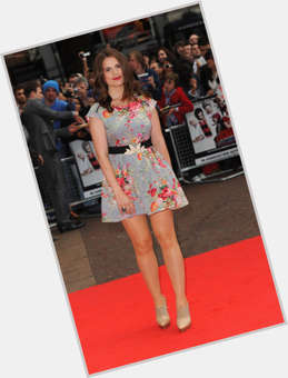 Hayley Atwell dark brown hair & hairstyles Voluptuous body,