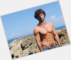 Ivan Sanchez dark brown hair & hairstyles Athletic body,