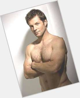 Jamie Bamber blonde hair & hairstyles Athletic body,