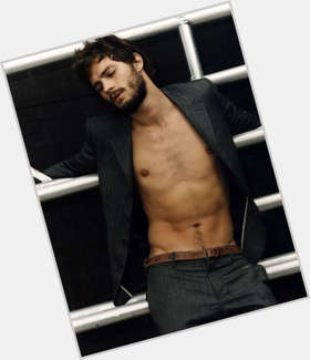 Jamie Dornan light brown hair & hairstyles Athletic body,