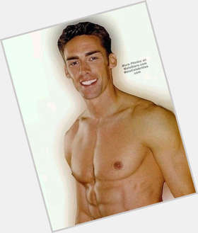 Jason Sehorn dark brown hair & hairstyles Athletic body,