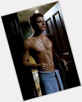 Jensen Ackles light brown hair & hairstyles Athletic body,