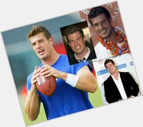 Jesse Palmer dark brown hair & hairstyles Athletic body,
