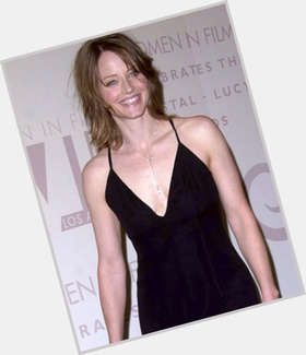 Jodie Foster light brown hair & hairstyles Athletic body,