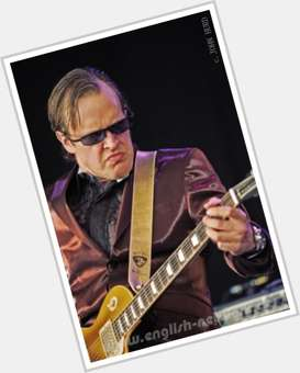 Joe Bonamassa light brown hair & hairstyles Athletic body,