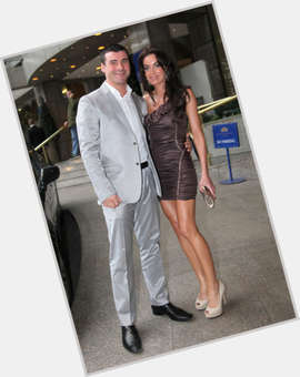 Joe Calzaghe dark brown hair & hairstyles Athletic body,