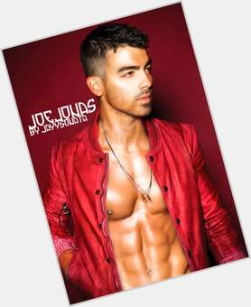 "<a href=""/hot-men/joe-jonas/is-he-drugs-married-virgin-single-wife-pregnant"">Joe Jonas</a> Athletic body,  black hair & hairstyles"