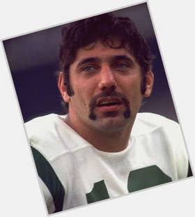 Joe Namath dark brown hair & hairstyles Athletic body,