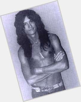Joe Perry dark brown hair & hairstyles Athletic body,