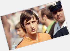 Johan Cruyff light brown hair & hairstyles Athletic body,