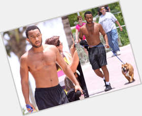 "<a href=""/hot-men/john-legend/is-he-married-mixed-black-asian-wife-white"">John Legend</a> Slim body,  black hair & hairstyles"