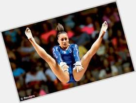 Jordyn Wieber dark brown hair & hairstyles Athletic body,