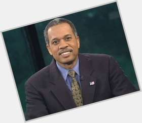 "<a href=""/hot-men/juan-williams/is-he-democrat-married-or-republican-wife-white"">Juan Williams</a> Average body,  salt and pepper hair & hairstyles"