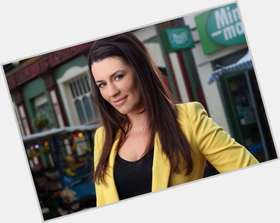 "<a href=""/hot-women/kate-magowan/is-she-eastenders-tall-harry-boat"">Kate Magowan</a>  dark brown hair & hairstyles"