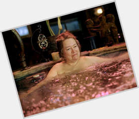 "<a href=""/hot-women/kathy-bates/is-she-american-horror-story-witch-coven-democrat"">Kathy Bates</a> Large body,  salt and pepper hair & hairstyles"