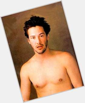 Keanu Reeves dark brown hair & hairstyles Slim body,