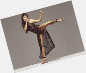"<a href=""/hot-women/kelly-hu/is-she-married-single-chinese-part-filipino-hunter"">Kelly Hu</a> Slim body,  dark brown hair & hairstyles"