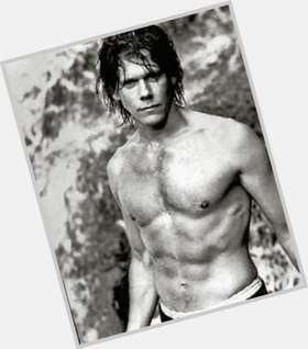 Kevin Bacon light brown hair & hairstyles Athletic body,
