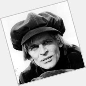 "<a href=""/hot-men/klaus-kinski/is-he-where-buried-crazy-tall"">Klaus Kinski</a> Slim body,  red hair & hairstyles"