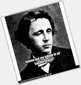 "<a href=""/hot-men/lewis-carroll/is-he-public-domain-american-author-pervert-girl"">Lewis Carroll</a> Slim body,  dark brown hair & hairstyles"