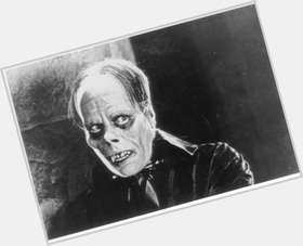 Lon Chaney dark brown hair & hairstyles Athletic body,