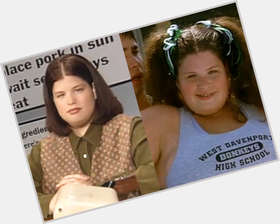 "<a href=""/hot-women/lori-beth-denberg/is-she-married-still-fat-alive-where-now"">Lori Beth Denberg</a> Large body,  dark brown hair & hairstyles"