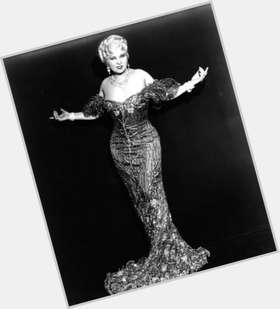 Mae West blonde hair & hairstyles Voluptuous body,