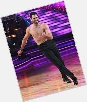 "<a href=""/hot-men/maksim-chmerkovskiy/is-he-dating-karina-smirnoff-engaged-married-returning"">Maksim Chmerkovskiy</a> Athletic body,  dark brown hair & hairstyles"
