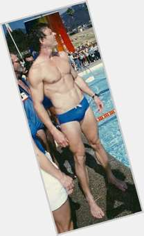 Marc Singer blonde hair & hairstyles Athletic body,