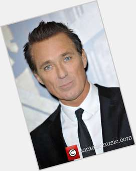 Martin Kemp light brown hair & hairstyles Athletic body,