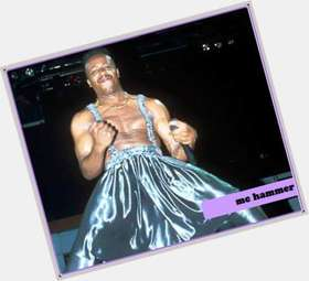 "<a href=""/hot-men/m-c-hammer/is-he-mc-broke-still-alive-bobby-brown"">M C Hammer</a> Average body,  black hair & hairstyles"