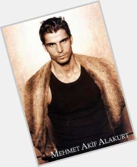 Mehmet Akif Alakurt dark brown hair & hairstyles Athletic body,