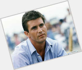 Mel Gibson dark brown hair & hairstyles Athletic body,