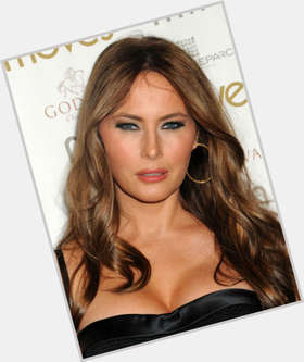 "<a href=""/hot-women/melania-trump/is-she-pregnant-again-gold-digger-us-citizen"">Melania Trump</a> Slim body,  dark brown hair & hairstyles"